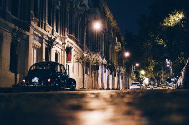Conduire Une Voiture Conduite De Nuit